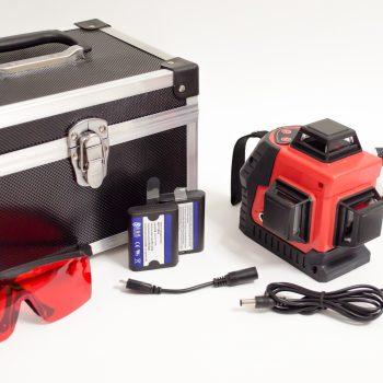 Лазерный уровень Kaitian 3D NEW: полный комплект на фото