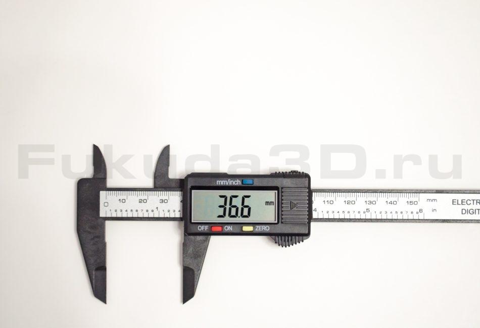 Цифровой штангенциркуль пластиковый 0-150мм