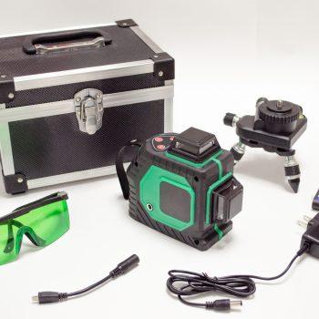 Лазерный уровень Kaitian 2D полный комплект на фото