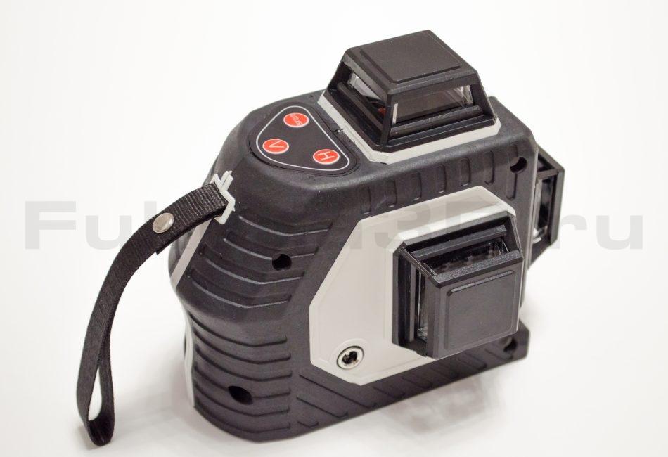 Лазерный уровень с зеленым лучом на 360 градусов фото