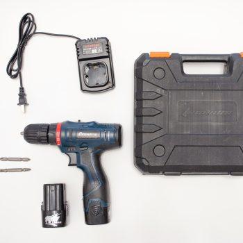 Аккумуляторный шуруповерт Longyun на 16.8V - комплектация на фото