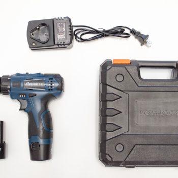 Аккумуляторный шуруповерт Longyun на 12V - комплектация на фото