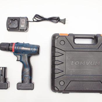 Аккумуляторный шуруповерт Longyun на 25V фото комплекта поставки