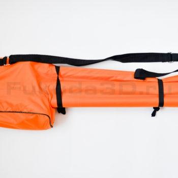 Распорная штанга в разобранном виде в чехле для лазерного уровня LAISAI высотой до 3,36 метра.