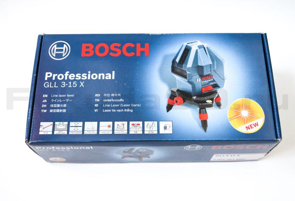 Характеристики лазерного нивелира Bosch GLL 3-15 X Professional