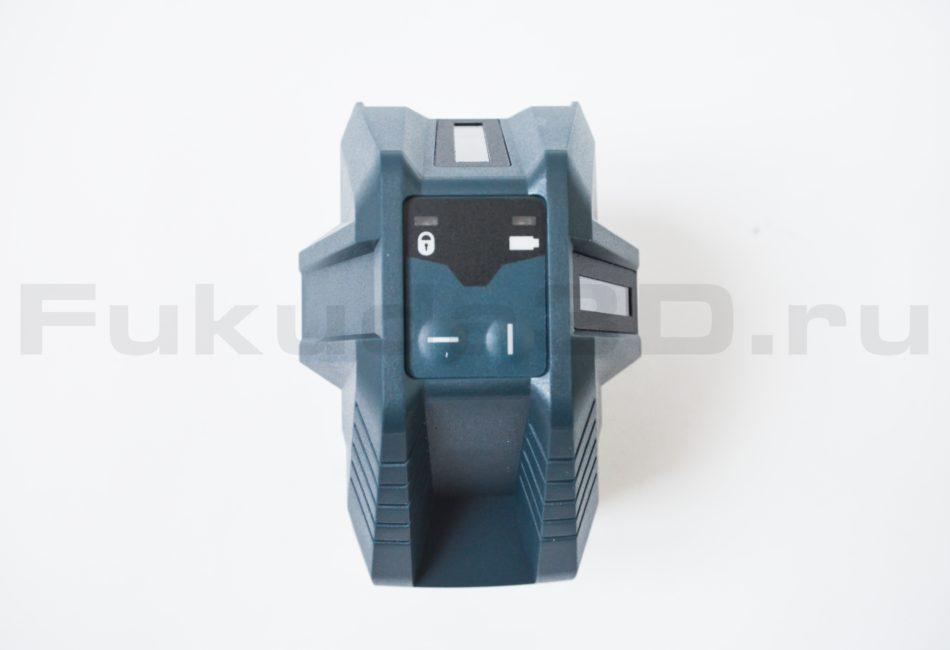 Панель управления лазерного уровня Bosch GLL 3-15 X