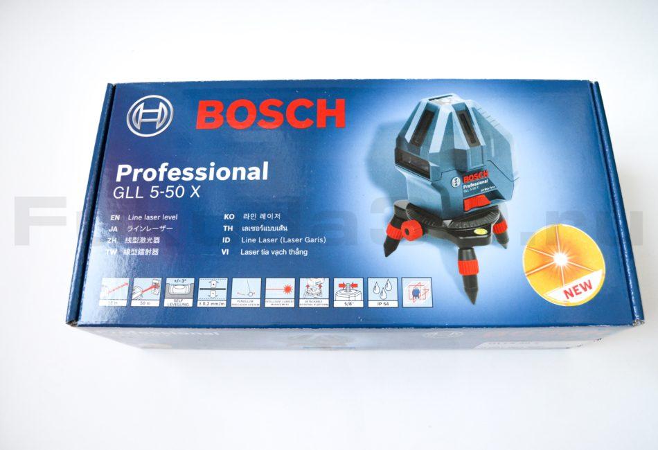 Характеристики лазерного нивелира Bosch GLL 5-50 X Professional