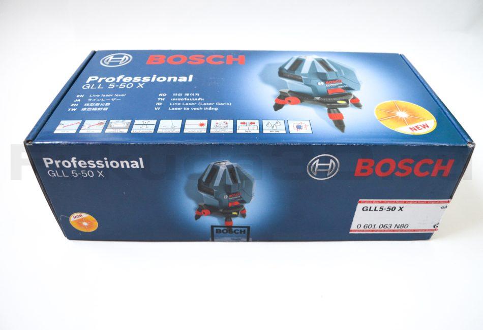 Оригинальная упаковка лазерного нивелира Bosch GLL 5-50 X