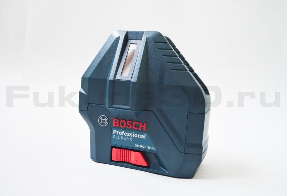 Тумблер блокировки маятника на нивелире Bosch GLL 5-50 X Professional