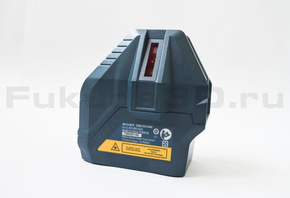 Лазерный нивелир Bosch GLL 5-50 X Professional