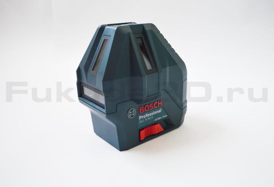 Лазерный нивелир Bosch GLL 5-50 X Professional - вид сбоку