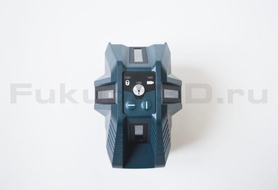 Панель управления лазерного уровня Bosch GLL 5-50 X