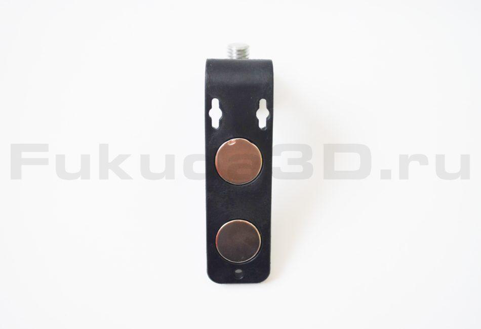 Магнитный кронштейн для лазерного уровня с возможностью крепления к стене на саморез