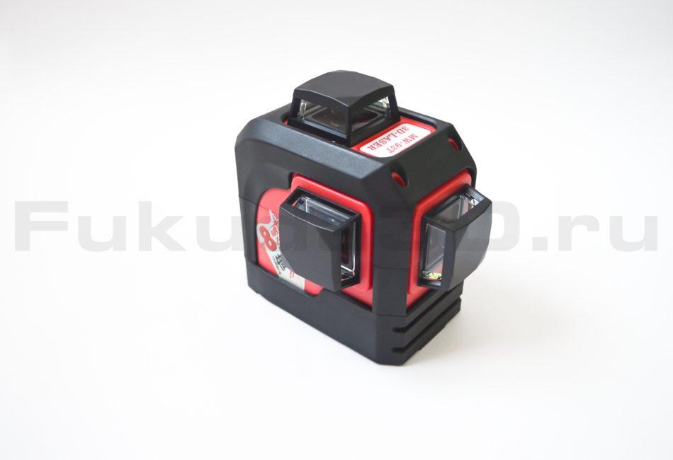 Лазерный уровень Fukuda 3D оснащен новыми коническими призмами