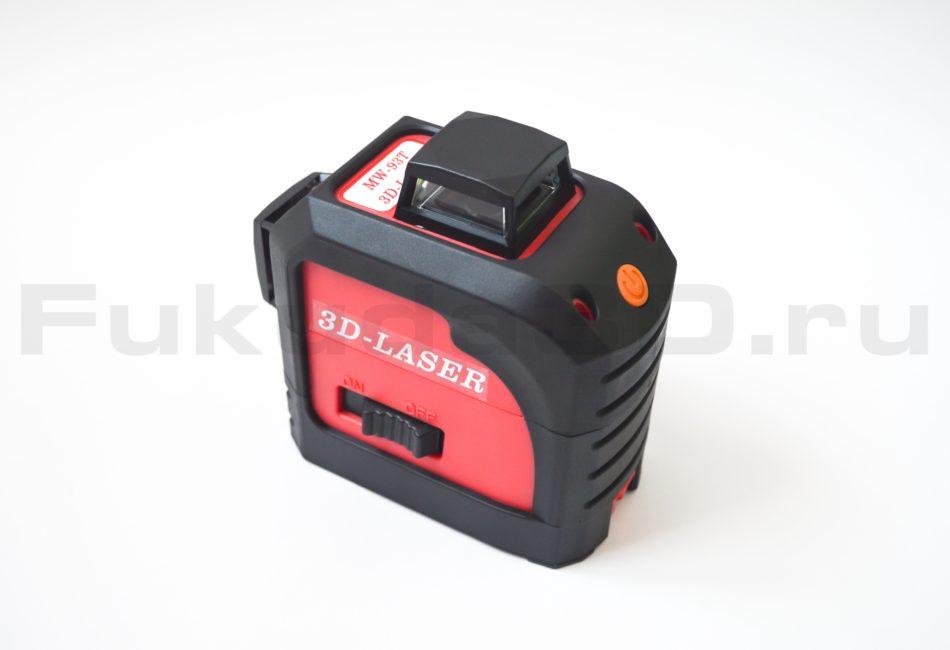 Лазерный уровень Fukuda 3D-LASER MW-93T (красный луч)