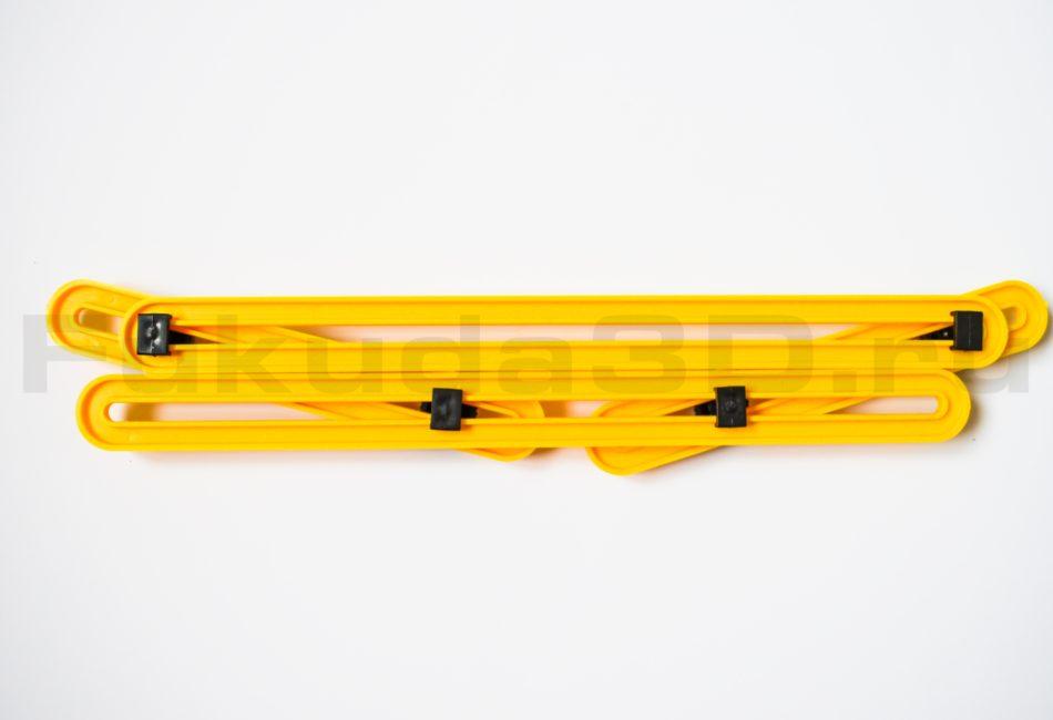 Линейка-шаблон для быстрой разметки и переноса любой формы и углов.
