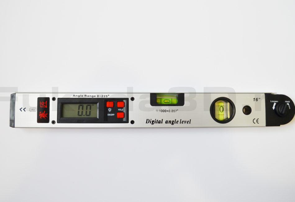 Цифровой угломер точно измеряет углы от 0-225 градусов