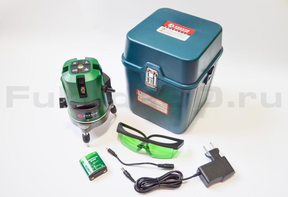 Лазерный уровень с зеленым лучом купить