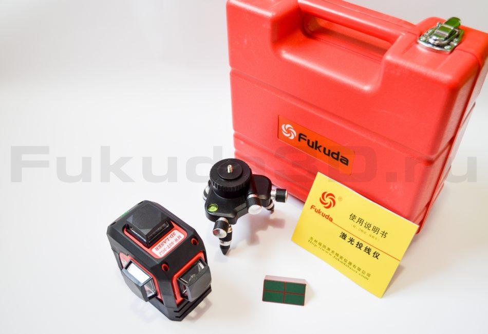 Что выходит в комплект поставки Fukuda 3D MW-93T