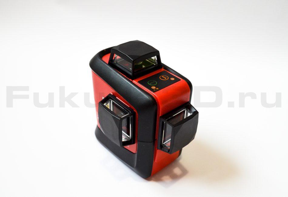 Качественный лазерный уровень с зеленым лучом Fukuda 3D