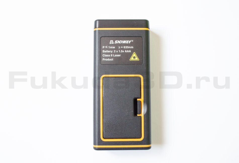 Батарейный отсек лазерного дальномера SNDWAY SW-G40