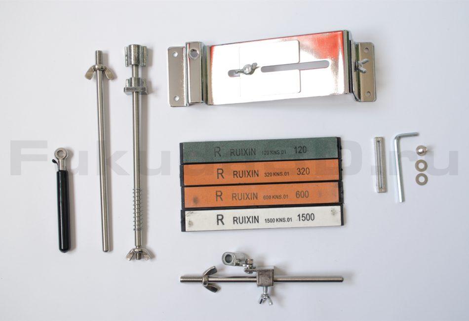 Точилка RUIXIN Pro 3 для заточки ножей и ножниц до состояния бритвы