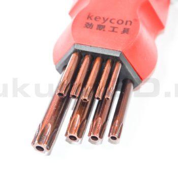 Набор удлиненных ключей TORX от T10 до T50