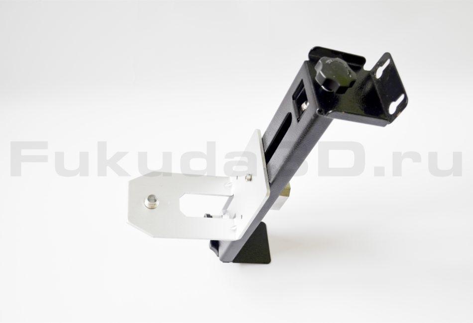 Кронштейн для лазерного уровня полностью металлический с плавной регулировкой