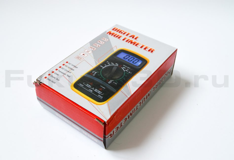 Упаковка тестера XL830L