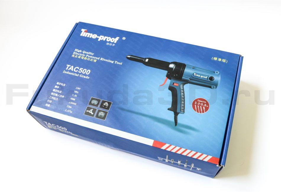 Заклепочник электрический Time-Proof TAC 500