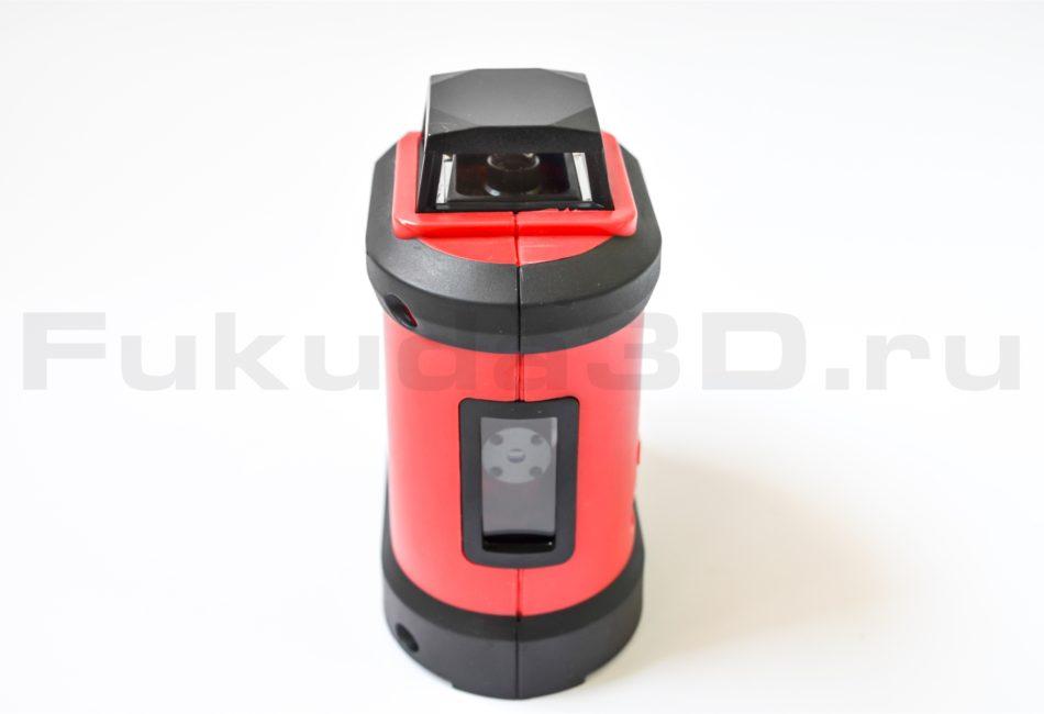 Лазерный уровень Fukuda FDG-190R - вид спереди