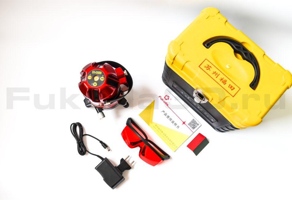 Лазерный уровень Fukuda EK-436BB купить с доставкой в ваш город