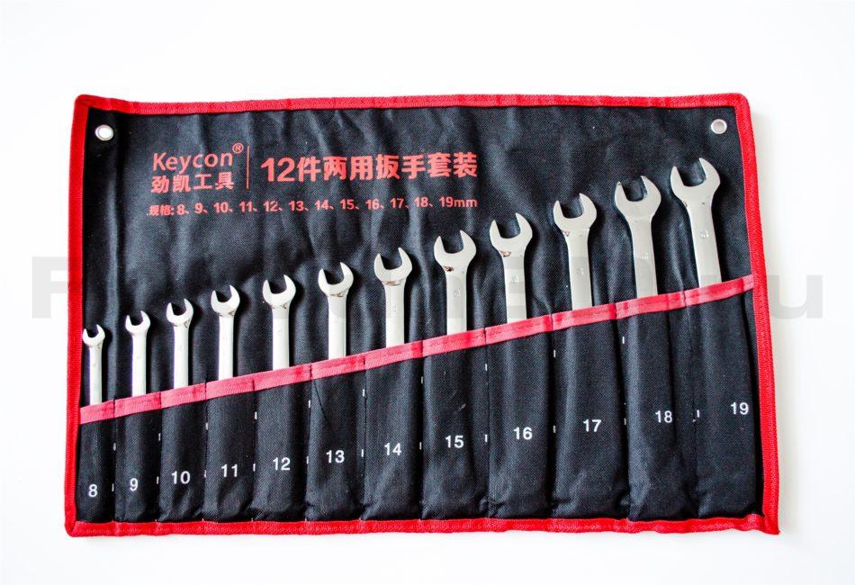 Набор комбинированных ключей, 8-19 мм, 12 предметов в Томске с доставкой по России