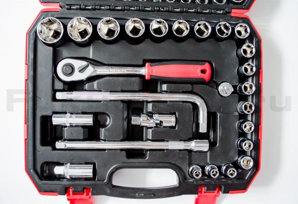 Фото набора инструментов Keycon 38 предметов