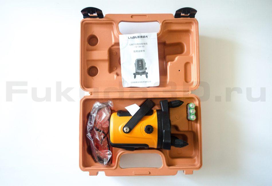 Лазерный уровень LaiSai LS671II - купить с доставкой по России