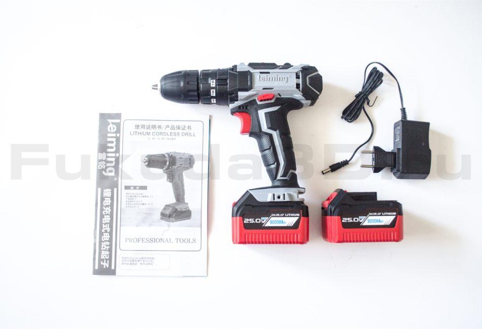 Аккумуляторный ударный шуруповерт Leiming 25V - купить в интернет-магазине