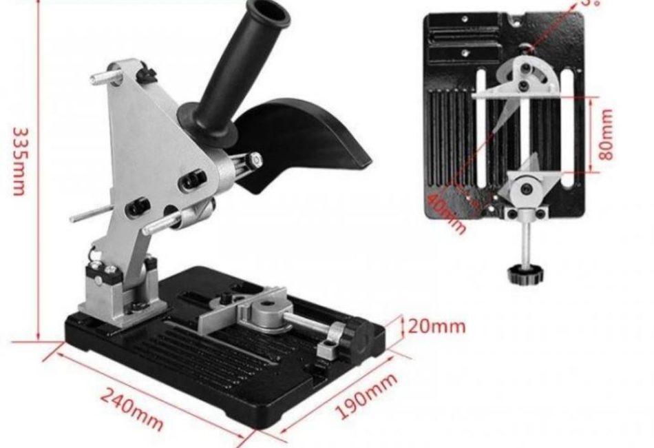 Стойка для болгарки с диаметром диска от 100 до 125 мм - размеры и характеристики