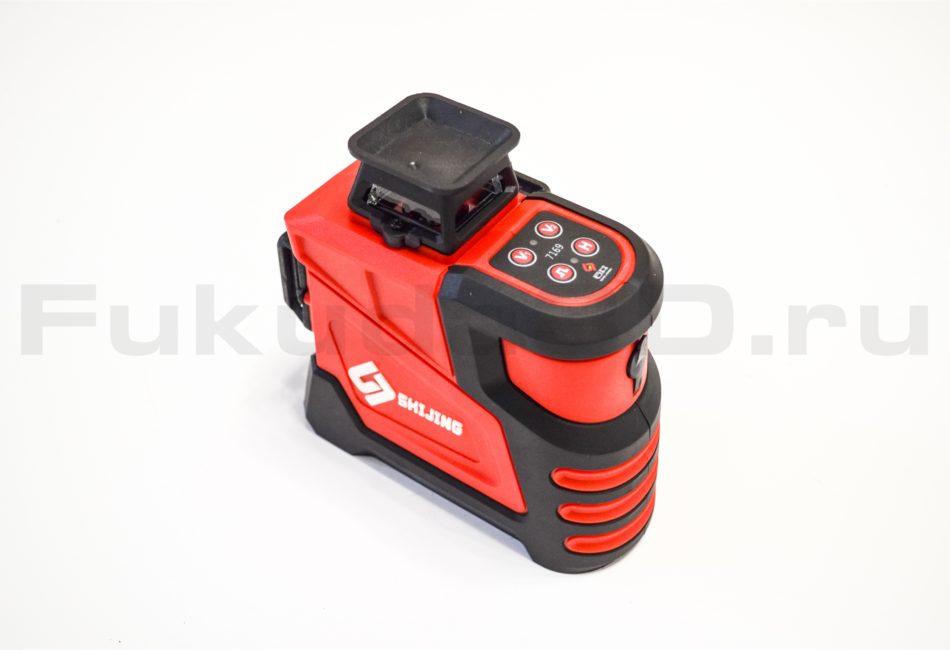 Качественный лазерный уровень SHIJING 3D