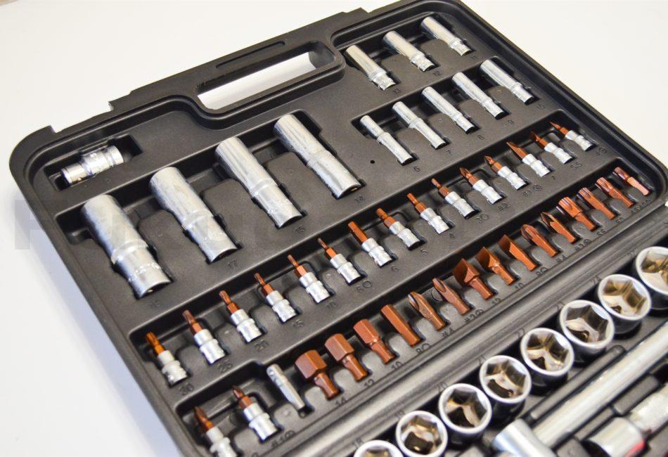 Набор инструментов Keycon 94 предмета - удлиненные торцевые головки