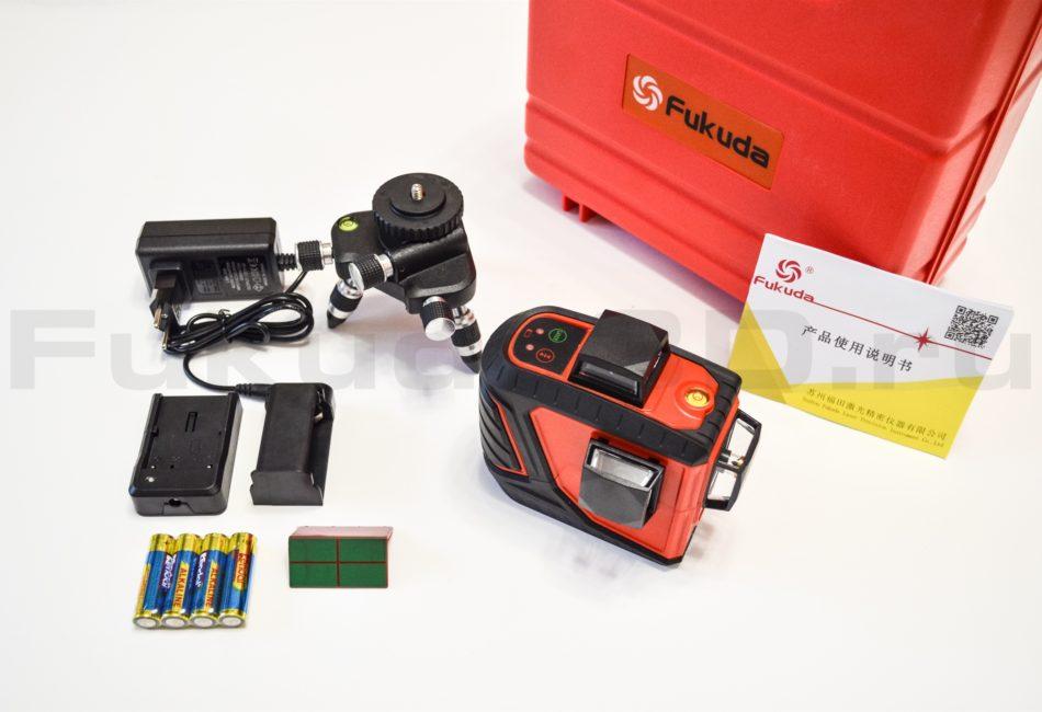 Fukuda 3D RED - новая модель в максимальной комплектации