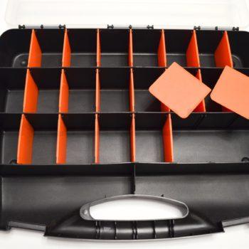 Органайзер для фурнитуры со съемными перегородками