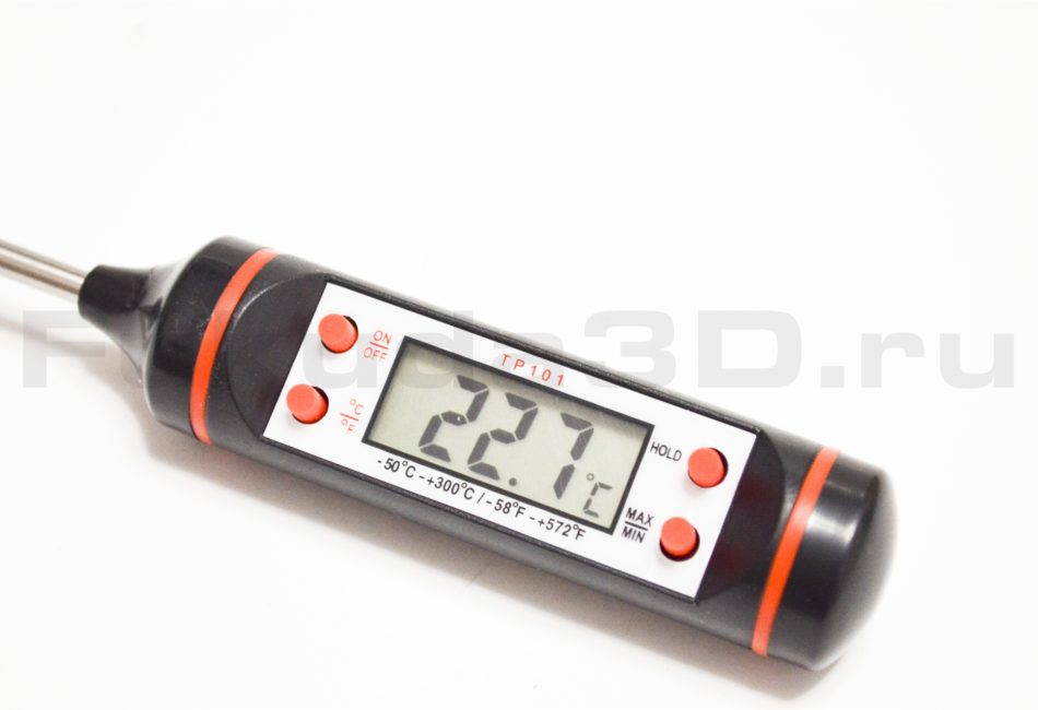 Цифровой термометр щуп кухонный - фото 3