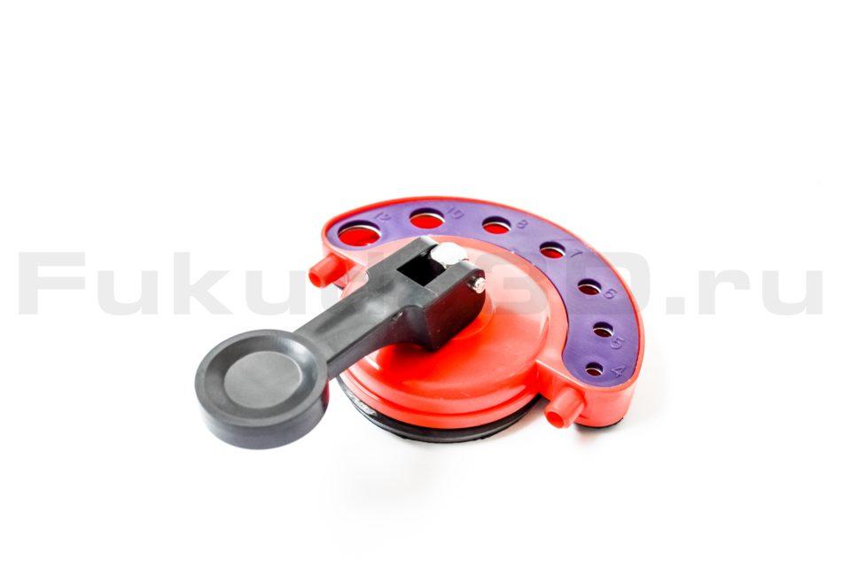 Кондуктор для алмазных сверл и коронок диаметром от 4 до 12 мм.