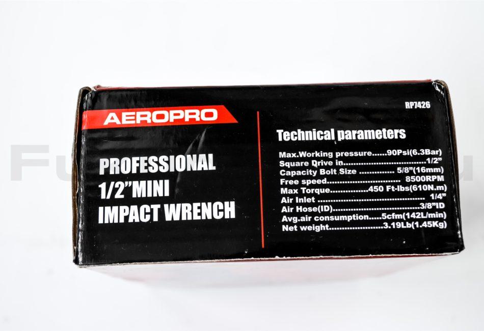 Пневматический ударный гайковерт Aeropro 7426