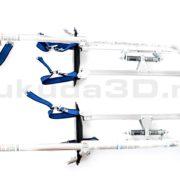 Профессиональные строительные ходули Stilts с регулировкой по высоте от 24 до 40 дюймов (60-100 см)
