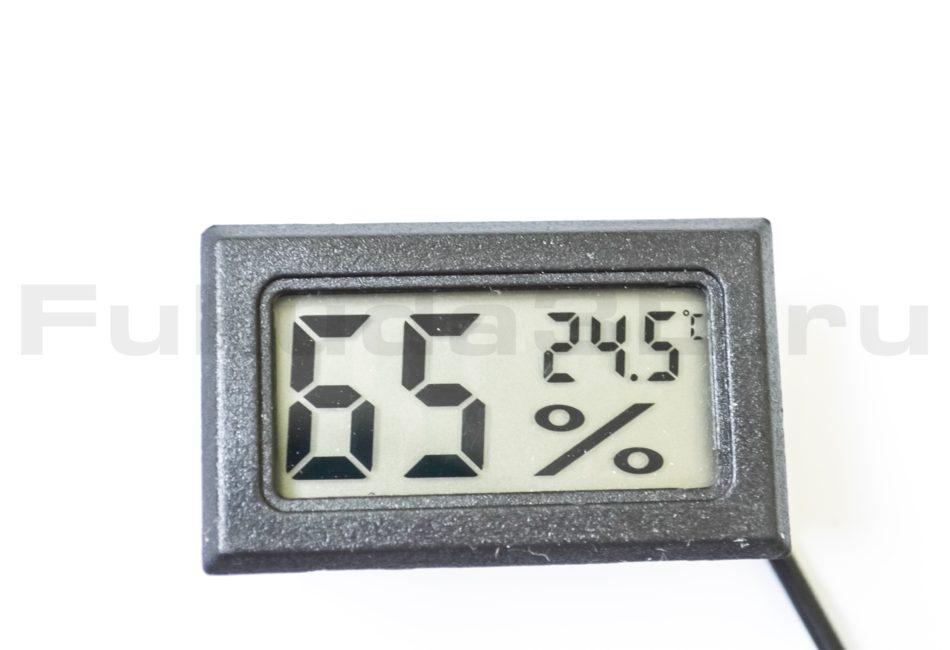 Гигрометр с датчиком температуры