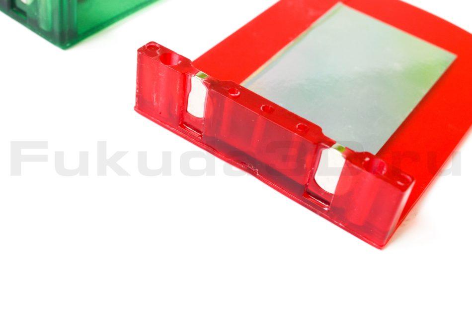 Магнитная мишень для лазерного уровня (красная)