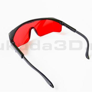 Очки для лазерного нивелира красного цвета