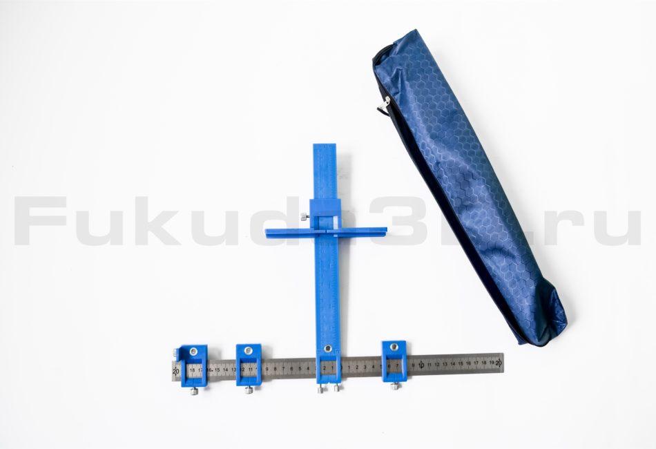 Универсальный шаблон для установки мебельных ручек