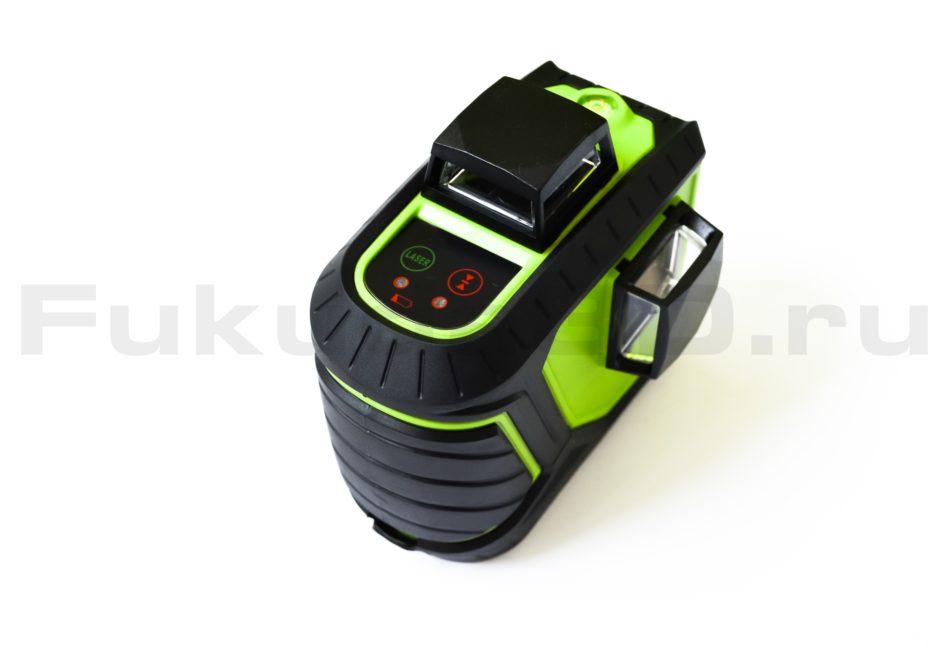 Лазерный уровень Fukuda 3D MW-93T-2-3GJ с зеленым лучом